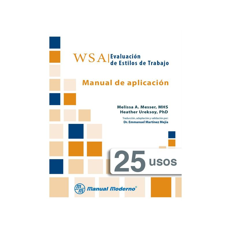 Tarjeta electrónica / WSA. Evaluación de estilos de trabajo