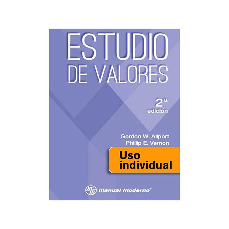 Tarjeta Uso Individual / Estudio de valores