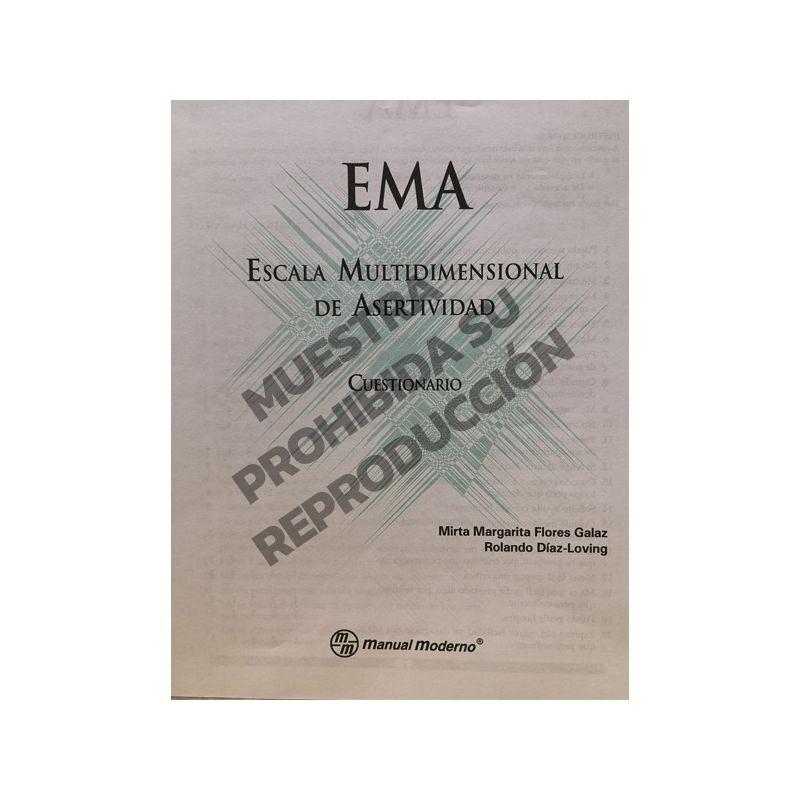 Cuestionarios Paq. 5 - Escala multidimensional de asertividad EMA