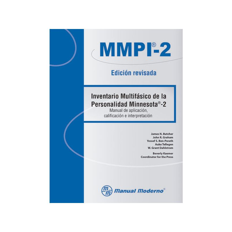 Inventario Multifásico de la Personalidad Minnesota®-2. Edición revisada