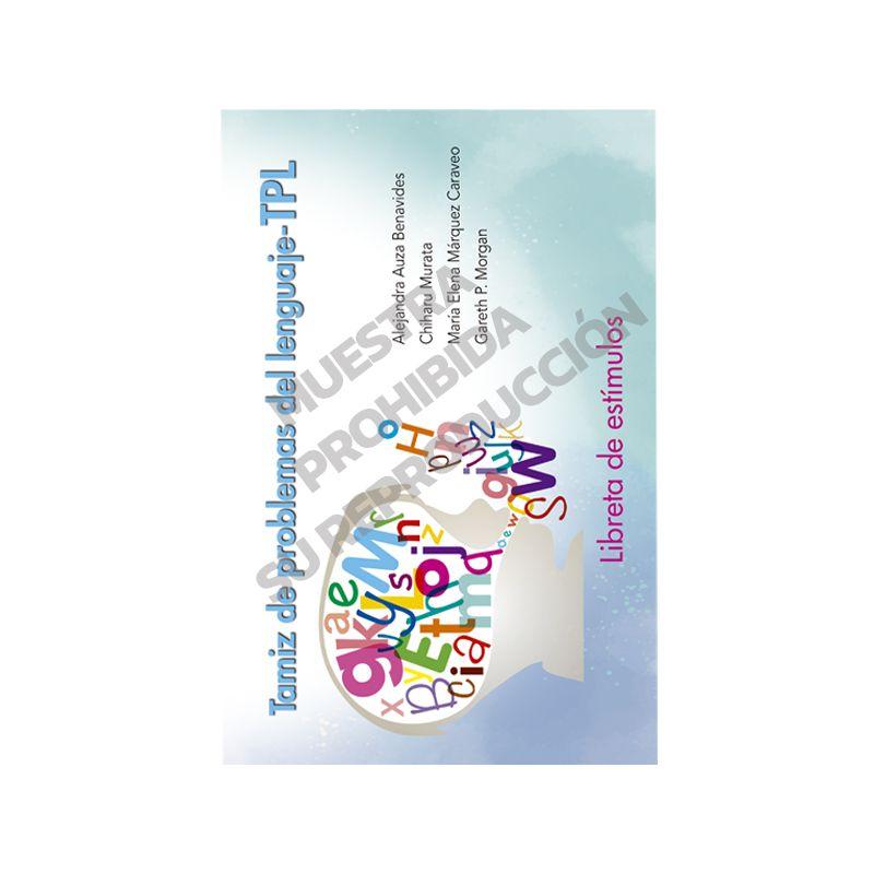 Libreta de estímulos - Tamiz de problemas del lenguaje TPL