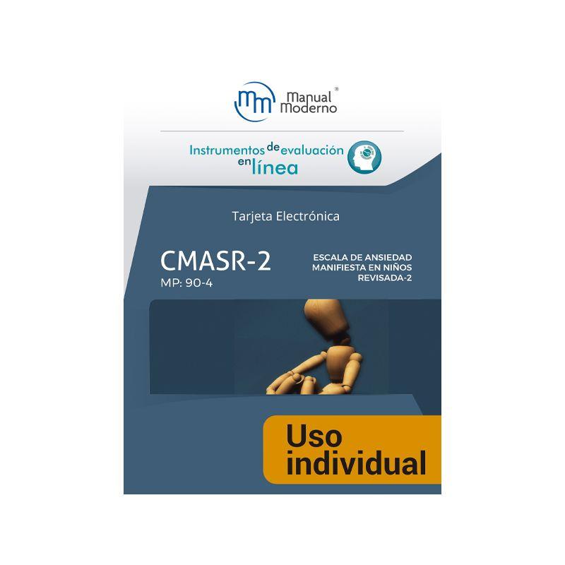 Tarjeta Uso Individual / Escala de ansiedad manifiesta en niños revisada (CMASR-2)