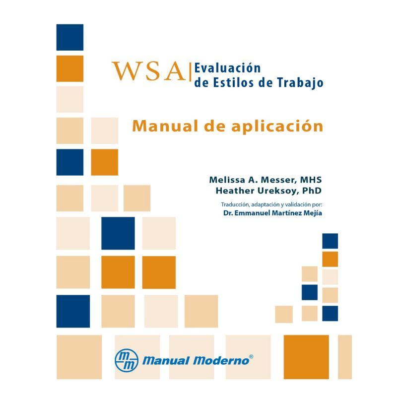 WSA. Evaluación de estilos de trabajo